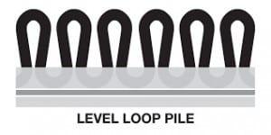 LEVEL LOOP PILE