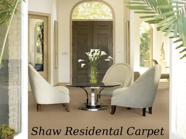 shaw residental carpet