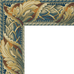 woven-tapestry-93-light blue acanthus