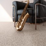 Tufted Nylon by Unique Carpets, Ltd. JazzRoom-chairwithsax