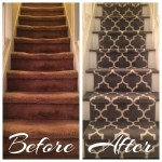 Carpet Runners STAIR RUNNER BEFORE & AFTER PIC (3)
