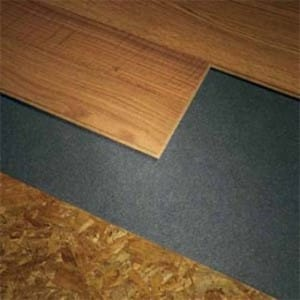 SofSound II Laminate Flooring Underlayment