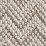 flat woven wool petra flora