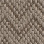 flat woven wool petra juno brown