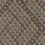 flat woven wool pompeii juno brown
