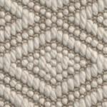 flat woven wool sparta flora