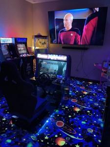 Cyber Space Purple 3