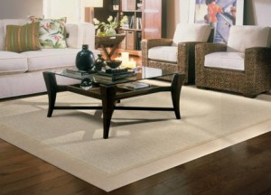 Two Border Area Rugs by Unique Carpets, Ltd. TwoBorder_Room_rug