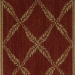 nourison chateau normandy ruby runner