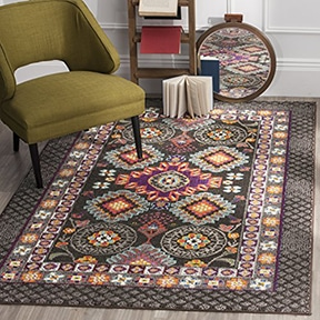 bohemian area rug