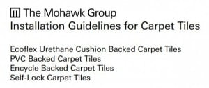 Mohawk Groups Carpet Tile Installation Guide mohawk group installation guide img
