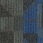 Shaw Contract Engage Carpet tile color Escape Blue