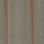 Shaw Contract Folded Carpet Tile color Paprika Twine