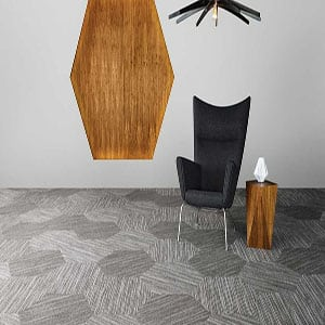 Shaw Contract Linear Hexagon Carpet Tile main img 300x300