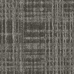 Shaw Contract Lineweight Carpet Tile color Charcoal