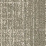 Shaw Contract Lineweight Carpet Tile color Gesso