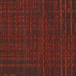 Shaw Contract Lineweight Carpet Tile color Sanguine