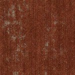 Shaw Contract Ornate Carpet Tile color Umber