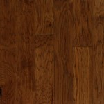 btt engineered hand scraped hickory color redwood