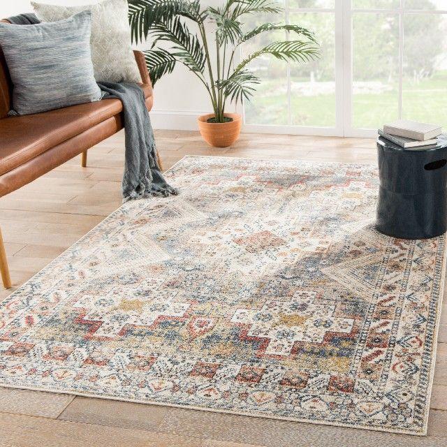 jaipur living kozan medallion vintage rug ex img