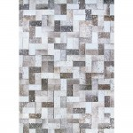 COURISTAN PRAIRIE NORDIC GRAY BROWN AREA RUG