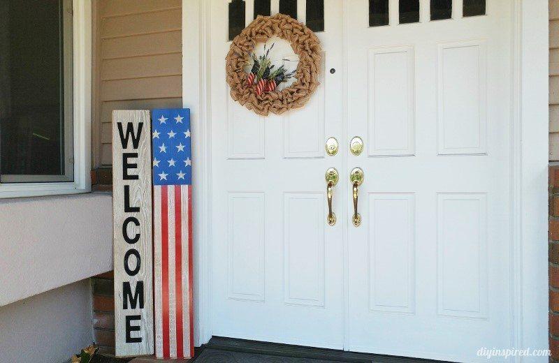 DIY-American-Flag-Front-Door-Sign