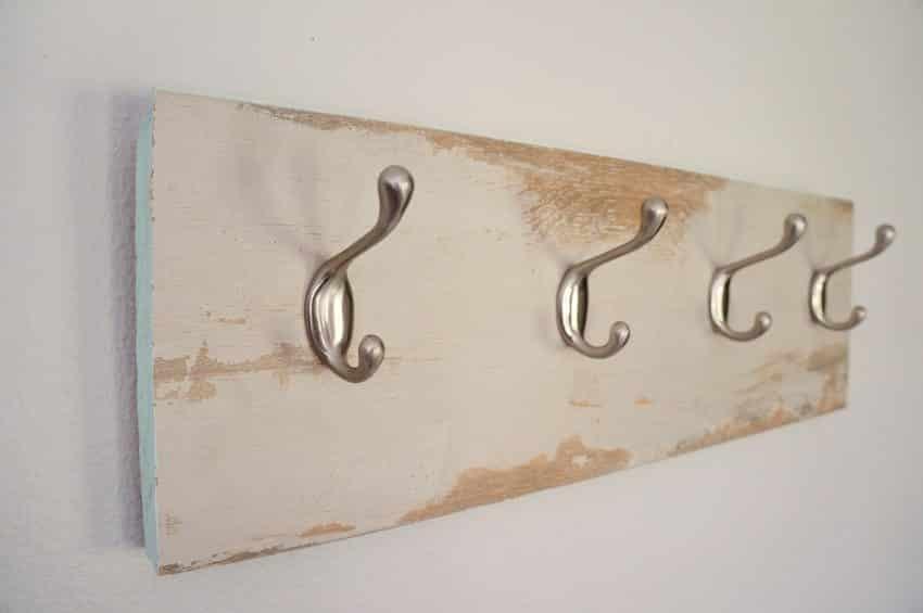 Repurposed-Laminate-Flooring-Coat-Hanger-10