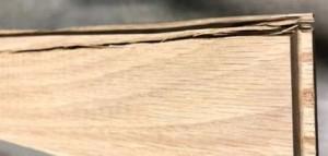 hardwood splitting