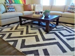 unique carpets ltd z trellis rug room scene img